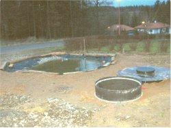 zahradní rybníček